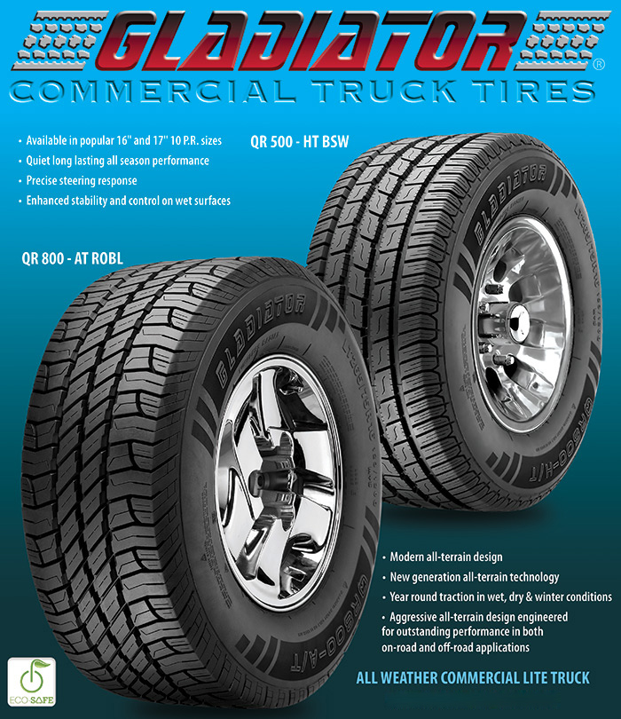National Tire Wholesale >> Gladiator Tires from National Tire Wholesale!